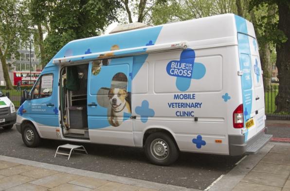 Providing Van-tastic Internet Connectivity for Blue Cross Mobile Vet Clinic