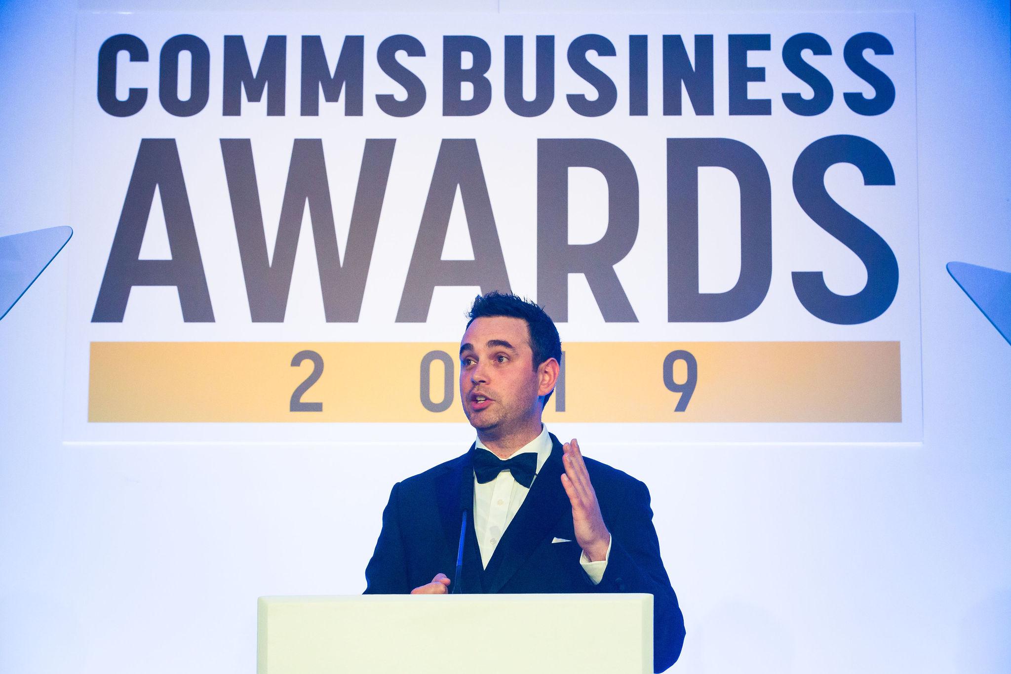 David Dungay, Editor, Comms Business Magazine